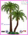 2014 çin yeni yenilik yapay ağaç meyve, yapay hindistancevizi ağacı açık proje dekorasyon