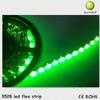 Sunled DC12V SMD 3528 green lighting led flexible strip