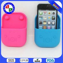 2014 eco-friendly silicone hippo loudspeaker for iphone6,shenzhen loudspeaker box