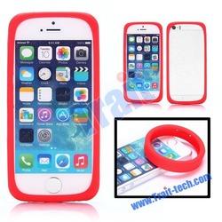 Hot Sale Luminous Elastic Silicone Wrist Ring Case For iPhone 5S 5