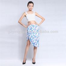 2015 newest summer printing beach skirt