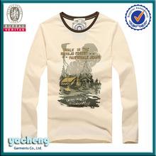 long_sleeve_shirt_dress cheap wholesale blue white stripe t-shirt new style o-neck long sleeve shirt style fancy men t-shirt