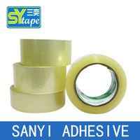carton sealing clear adhesive circle tape with logo