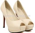 Pretty Steps 2014 Lady sexy dress Ladies chic high heels fashion lady dress shoes chinese woman naked Guangzhou wholesale
