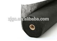 black pp non woven fabric material