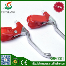 Factory price Red color bicycle part double bike brake lever