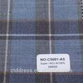 De alta calidad para hombre trajes sastre de encargo con lana de alta calidad tela 160s c5001-a5 código
