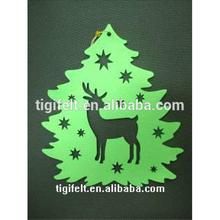 Felt christmas decorative deer