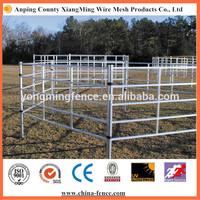 australia style farm&ranch rail fence-6 bars livetock cattle/bull/cow fence panels