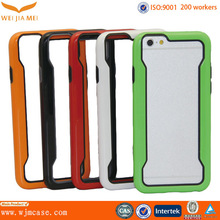 double color bumper for iphone 6 ,plastic bumper for iphone 6