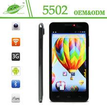 5.5 inch quad core HD 1280*720 MTK6582M 1G+8G 2.0/13.0 camera high cost mobile phone