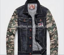 men's thick heavy plain denim jeans jackets