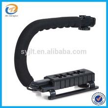Portable Photography Steadicam C Shape Flash Camera Bracket Video Handheld Stabilizer Grip for DSLR SLR Camera DV Camcorder