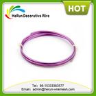 HR colored aluminum craft wire heart shape/ bonsai metal wire