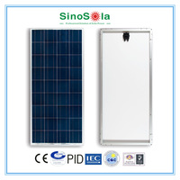 High Efficiency 150 Watt Mono/Poly Solar Panel with TUV/CEC/IEC/ISO Certificates
