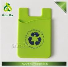 popular 3M sticker silicone holder smart wallets