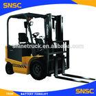 battery electric forklift/battery fork lift truck/charger battery forklift