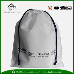 2014 shopping bag Non Woven fashion drawstring bag