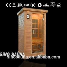 1 Person Portable Home Sauna Cabin With Nano Carbon Heater
