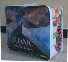 full print high quality blanket packing bag