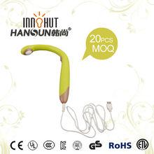 2014 cheap digital vibrating portable electric personal u neck comfortable massager
