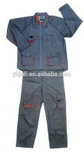 gray working uniform, work uniforms hot saling