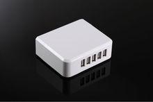 5 USB Ports Home Wall Charger AC Adapter EU AU US UK Plug for Samsung HTC Blackberry Universal