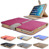 High Quality Suede Leather Smart Case Cover For Ipad Air 2 with Sleep Wake