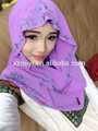 Chaude robe de hijab islamique, foulard musulman whoelsae prix, nouveau style pour les femmes fille 2014