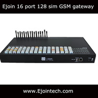 HOT SALE! Voip call terminal 16 channels 128 sims voip gsm gateway usb voip adapter
