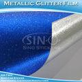 Feuille d'aluminium métallique enveloppement de voiture de vinyle adhésif autocollant de voiture stickers