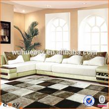 England style tartan design brand tapete and floor mat