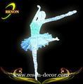 Led rs-ag08 bailarina escultura/plástico bailarina