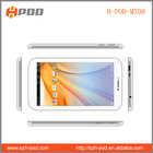 2014 7 inch Allwinner A23 512MB 4GB HDD Dual Camera 2G Phone Call Function