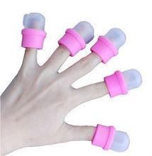 CL-9039 Nail polish remover sponge nail remover cap DIY Acrylic UV gel cap tip set