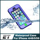 Shockproof snowproof waterproof cellphone case for iphone 5 5s