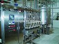alta calidad y línea de producción industrial línea de producción de máquinas de helado helado en acero inoxidable