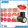 attractive color cosmetic adhesive label stickers