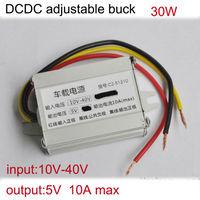 Factory price Non isolated buck module dc converter 24V 12V to 5V high efficiency for car power solar panel power LED screen