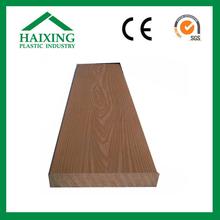deck wpc wood-looking plastic cedar lumber with CE,SGS,ani-UV
