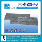 Double layer pvc roof shingles for reasonable price