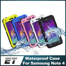 underwater waterproof case for samsung galaxy note 4 N9100