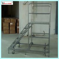 metal collapsible ladder step ladder
