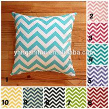 Decorative Throw Chevron cushion cover,any color chevron design