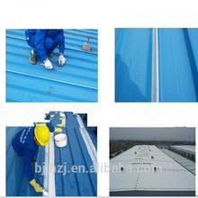 Spray waterproof coating for metal roofs