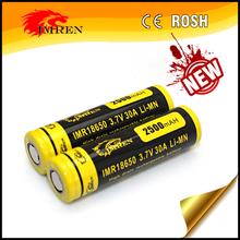 provari/pinoy mod IMREN IMR 18650 2500mAh 3.7V battery ,imren 18650 2500mah 30A,battery for e-cigarette