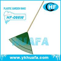 "30"" wide plastic rake garden rake"