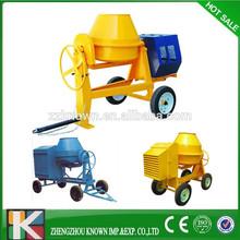 Portable self loading Kn-JZC500-B concrete mixer machine