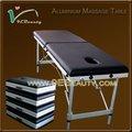 usado do salão de beleza de móveis de alumínio multi posição mesa de massagem