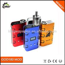 2014 New Mech Mod Big Watt God 180 Mod Wholesale Vv Mod God180